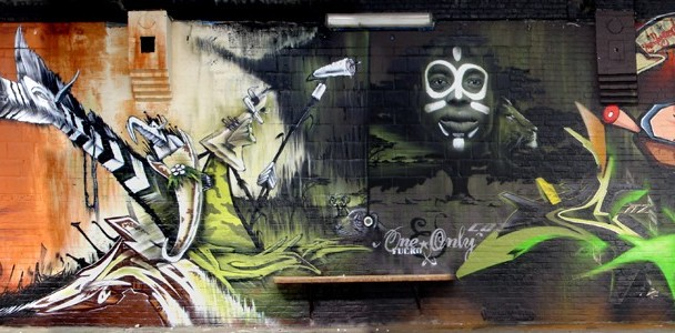"""""""4 ELEMENTS BOONCE"""" (Hasselt) 2006– Cayn, Urih, Ma'La, Resm, Casroc, Fuckone, Caz, Mr. Wany, Does, Pryme, Rotaone, Spymad, Crie"""