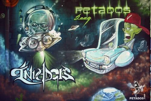 """PETADOS INVADERS"" (Rubí) 2009– Ma'La, Urih"