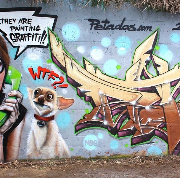 """THEY ARE PAINTING GRAFFITI1-WTF?!"" (Rubí) Spain 2014 – Ma'la, Axia"