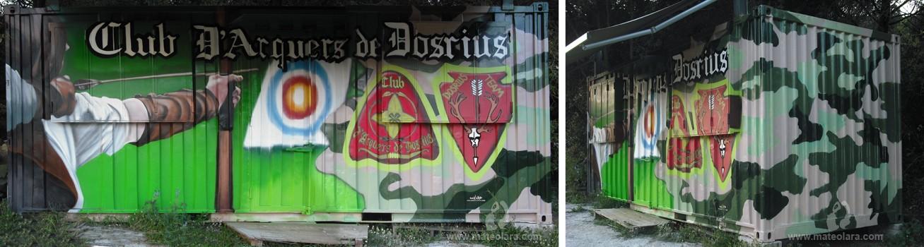 Club d 39 arquers de dosrius dosrius spain 2010 for Club de suscriptores mural