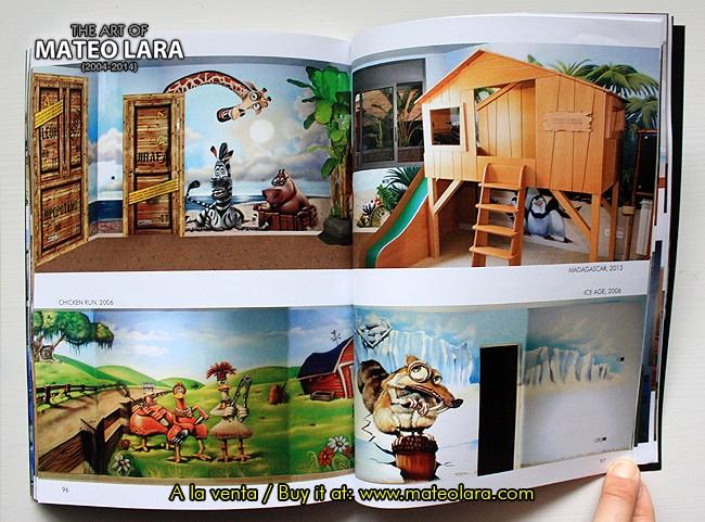 Libro the art of mateo lara pintura mural barcelona - Pintura mural barcelona ...