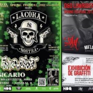 """26.05.12- Exhibición Graffiti """"@RAZZMATAZZ"""""""