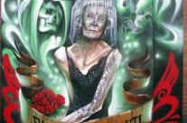 BCN TATTOO 'RIP BARCELONA GRAFFITI', panel 1.8 x 1.8 m. – Barcelona (Spain). 2011