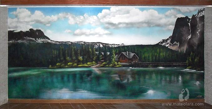 paisajes-3d-cabaña