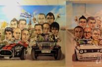 PANDIANI Y AMIGOS, 7 x 3.5 m. – Mataró (Spain). 2011 Copyright [Espray]