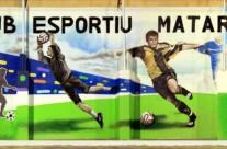 CLUB ESPORTIU MATARÓ, 30 x 4 m. Mataró (Spain).  ©2013 [Espray]