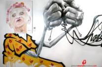 """Exposición """"Tejido Urbano"""" Graffiti. 2013 Copyright [Espray]"""