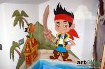 JAKE Y LOS PIRATAS – Habitación infantil. 2013
