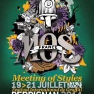 "20.07.14 – Exhibición Graffiti ""MEETING OF STYLES"" France"