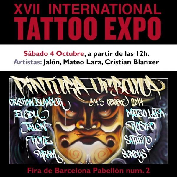 cartel-barcelona-tattoo-expo-graffiti-2014