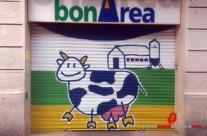 Persiana graffiti BONAREA – Barcelona (Spain) ©2014 [Spray]