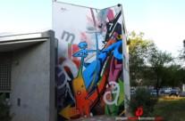 MURAL GRAFFITI FACHADA INSTITUTO
