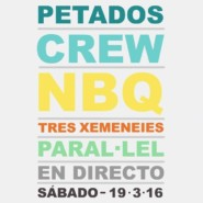 """19.03.16 – Exhibición Graffiti """"PETADOS CREW"""" Barcelona"""
