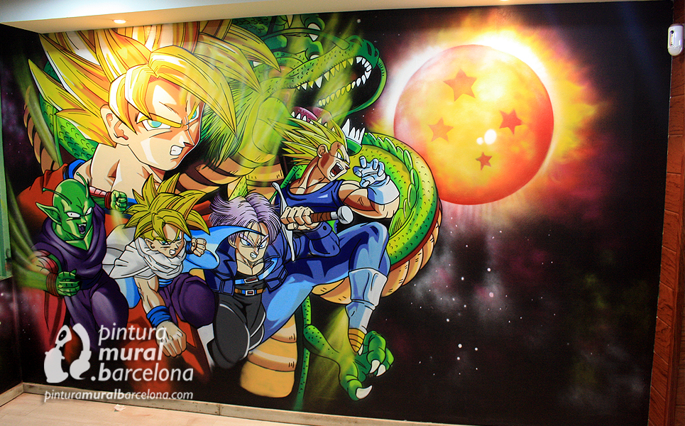 mural-graffiti-dragonball-goku-vegeta