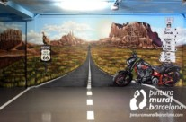 MURAL GRAFFITI HARLEY DAVIDSON