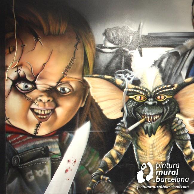 graffiti-peliculas-chucky-terror-mural-gremlins-jason