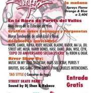 """17.06.17 – Exhibición de Graffiti """"200 escritores"""" en Parets de Vallès, Barcelona"""