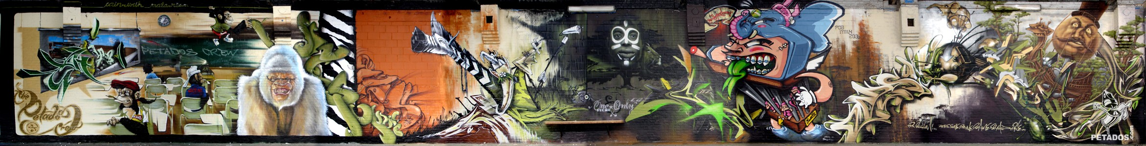 """4 ELEMENTS BOONCE"""" (Hasselt) 2006– Cayn, Urih, Ma'La, Resm"""