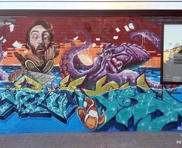 """PETADOS BADIA STREET"" (Badia del Vallès) 2013 – Baie, Ma'La, Cayn, Urih, Axia, Kets"