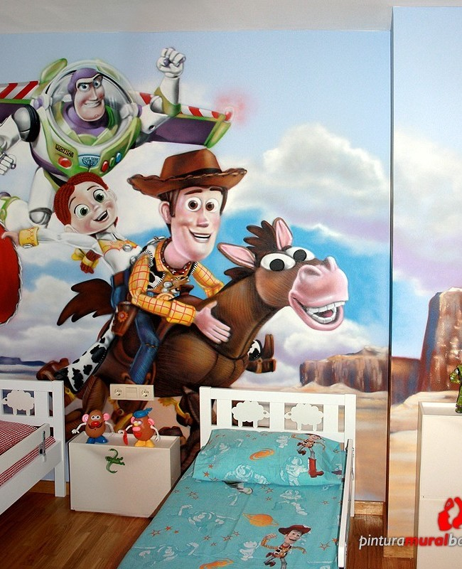TOY STORY – Habitación infantil. Mataró (Spain). 2011 Copyright