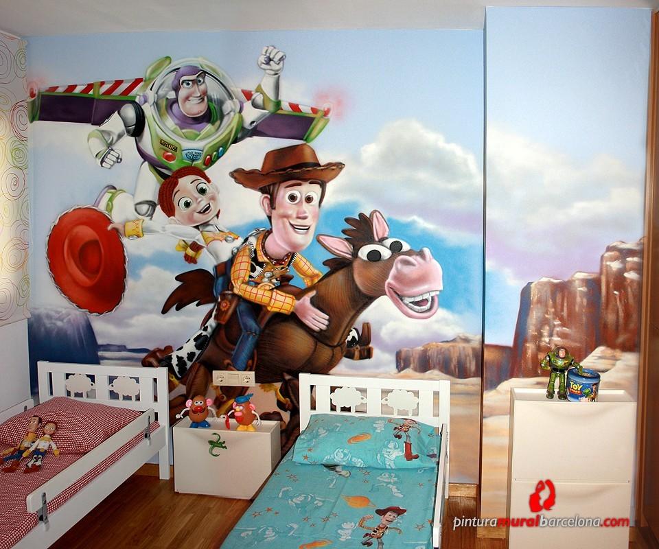 Toy story habitaci n infantil matar spain 2011 - Habitaciones infantiles disney ...