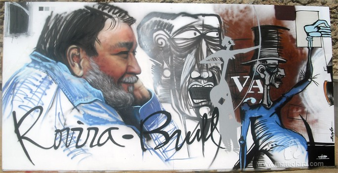 ROVIRA BRULL, panel 5×2.4 m. – Mataró (Spain). 2010 Copyright [Espray]