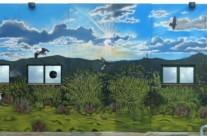 EQUIPAMIENTO BOMBEO 4 – 17 x 6,6m.(112 m2), Sant Boi de Llobregat (Spain). 2008 Copyright [Base de pintura plástica y espray]