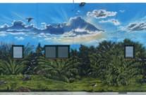 EQUIPAMIENTO BOMBEO 3 – 17 x 6,6m.(112 m2), Sant Boi de Llobregat (Spain). 2008 Copyright [Base de pintura plástica y espray]