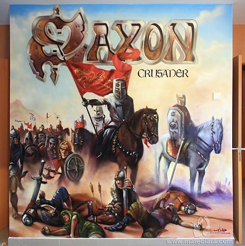 SAXON, Crusader – Comedor. Cornellà de Llobregat (Spain). 2011