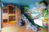 CASITA SELVA (art4kids.es) – Habitación infantil. Argentona (Spain). 2011