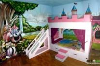 CASTILLO PRINCESAS (art4kids.es) – Habitación infantil. Toledo (Spain). 2011 Copyright [Espray]