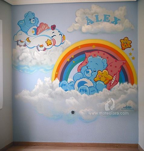 Osos amorosos habitaci n infantil cornell de llobregat - Pinturas habitaciones infantiles ...