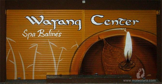 WAYANG CENTER – c/ Girona, 48. Barcelona (Spain). 2008 Copyright [Espray]