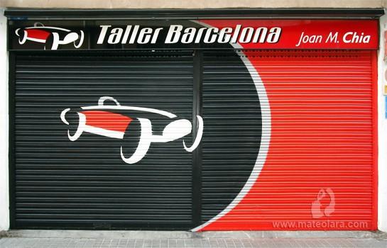 TALLER BARCELONA – c/ Barcelona, 8. Arenys de Mar (Spain). 2009 Copyright [Espray]