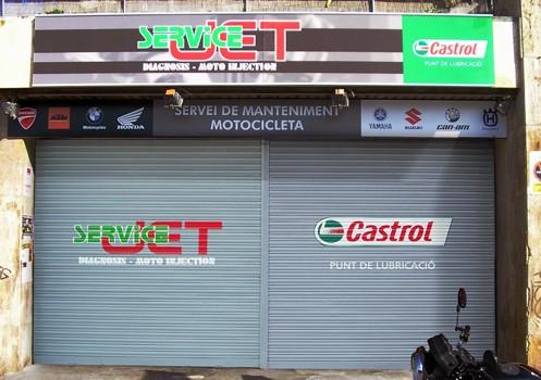 CASTROL-JET SERVICE – Ctra. Costa Brava, 4. St. Vicenç de Montalt (Spain). 2010 Copyright [Espray]