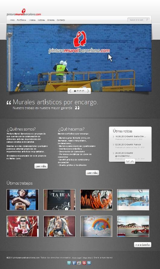 Nueva web pmb pintura mural barcelona mateo - Pintura mural barcelona ...