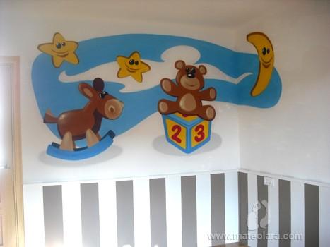 JUGUETES INFANTILES – Habitación infantil. La Roca del Vallès (Spain). 2010 Copyright [Espray]