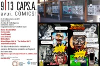27.09.13- Exposición «CAPS.A 9/13» Cómic – Graffiti