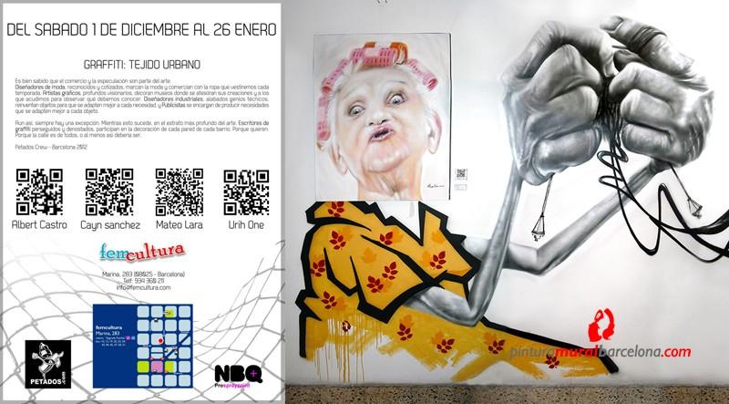 01.12.12- Exposición  Graffiti «TEJIDO URBANO»