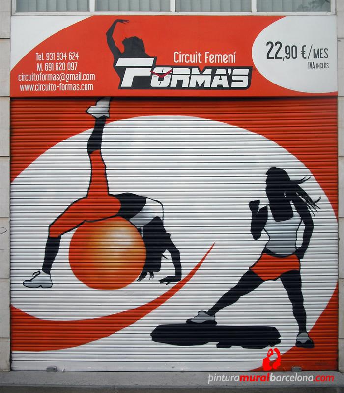 FORMA'S – c/ Josep Plà, 13. Mataró (Spain). 2012 Copyright [Espray]