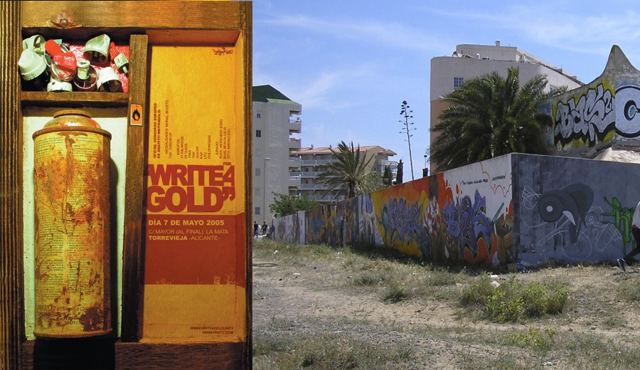 write-4-gold-petados-graffiti-torrevieja-2005
