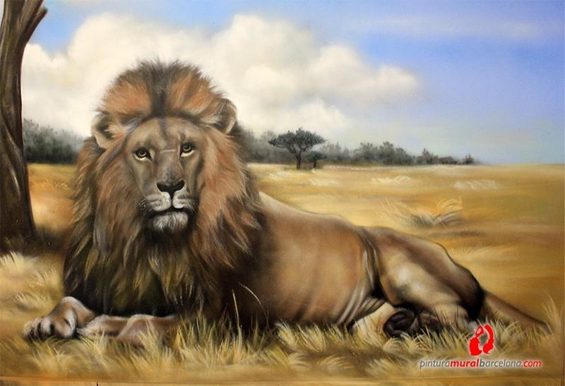 detalle-leon-mural-mateo-lara-barcelona-africa
