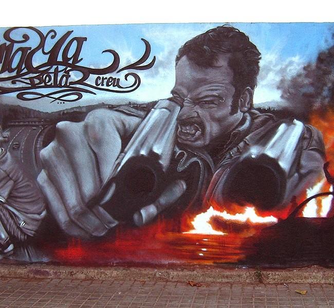 PISTOLAS – Mataró (Spain). ©2006 [Espray]