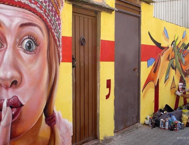 SILENCIO – Mataró (Spain). ©2006 [Espray]