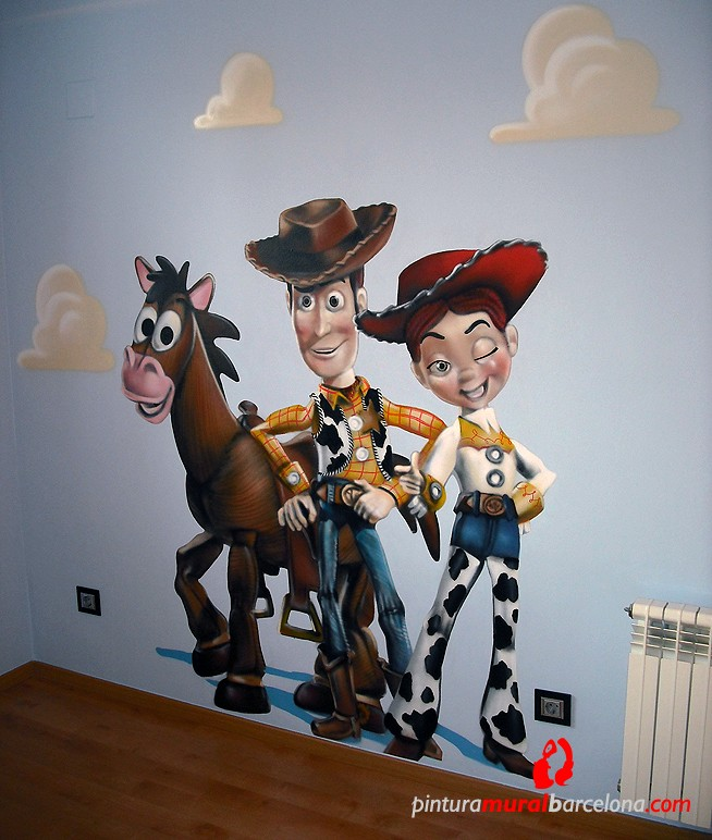 TOY STORY 2 – Habitación infantil. Barcelona (Spain). 2011