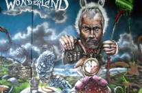 "MURAL GRAFFITI ""WONDERLAND"" – Bocholt (Belgium). ©2013 [Spray]"