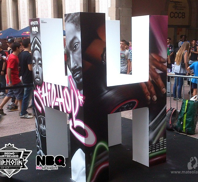 "GRAFFITI ""HIPNOTIK FESTIVAL"" – Barcelona. ©2013 [Spray]"