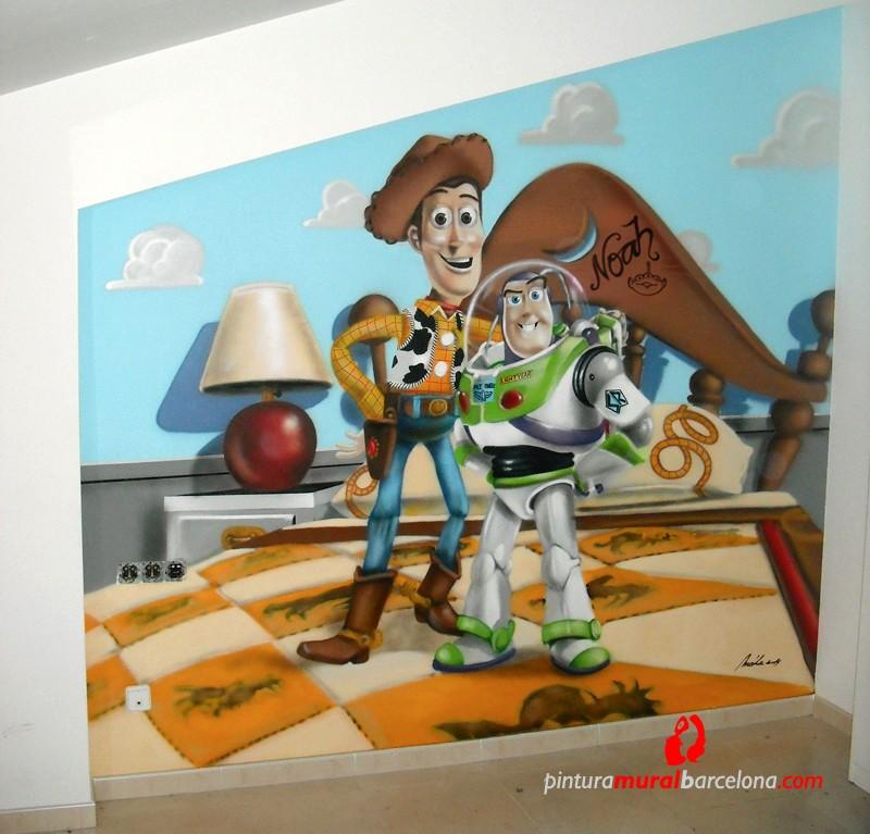 MURAL TOY STORY – Habitación infantil. 2014