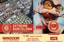 "28.06.14 – Exhibición Graffiti ""WINDOOR"" Empuriabrava (Girona)"