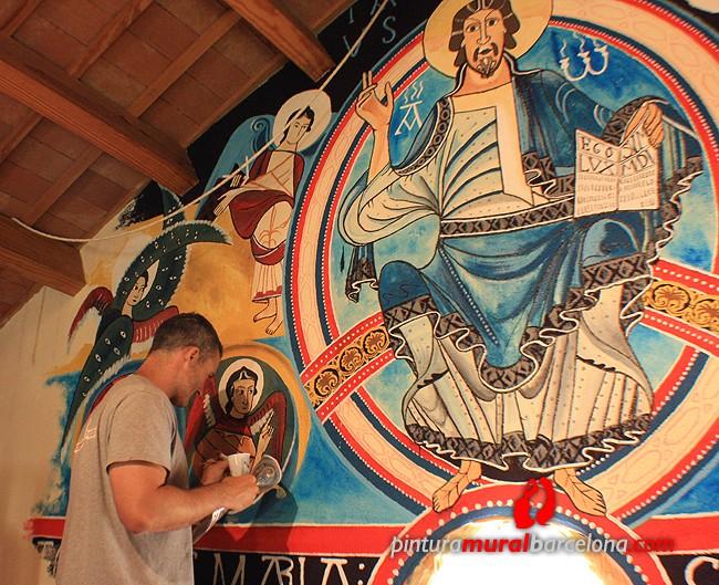 mural-iglesia-pantocrator-pintado-mateo-lara